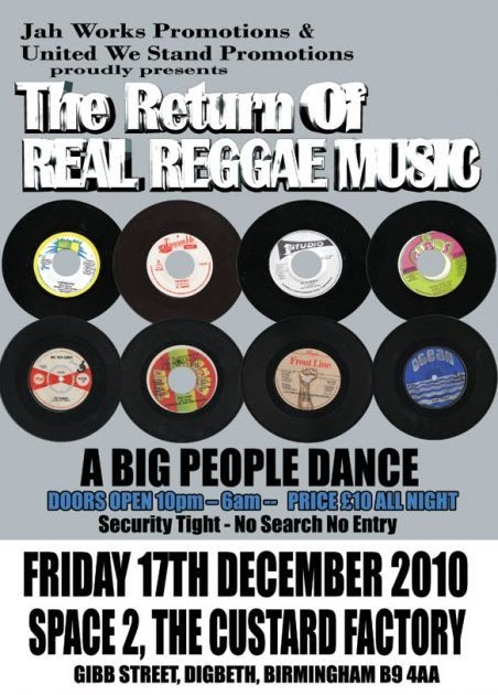 Judge It Yourself The Return Of Real Reggae Music