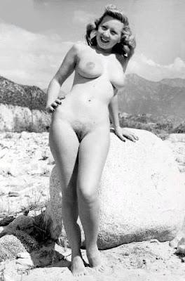 naked girl on calendar