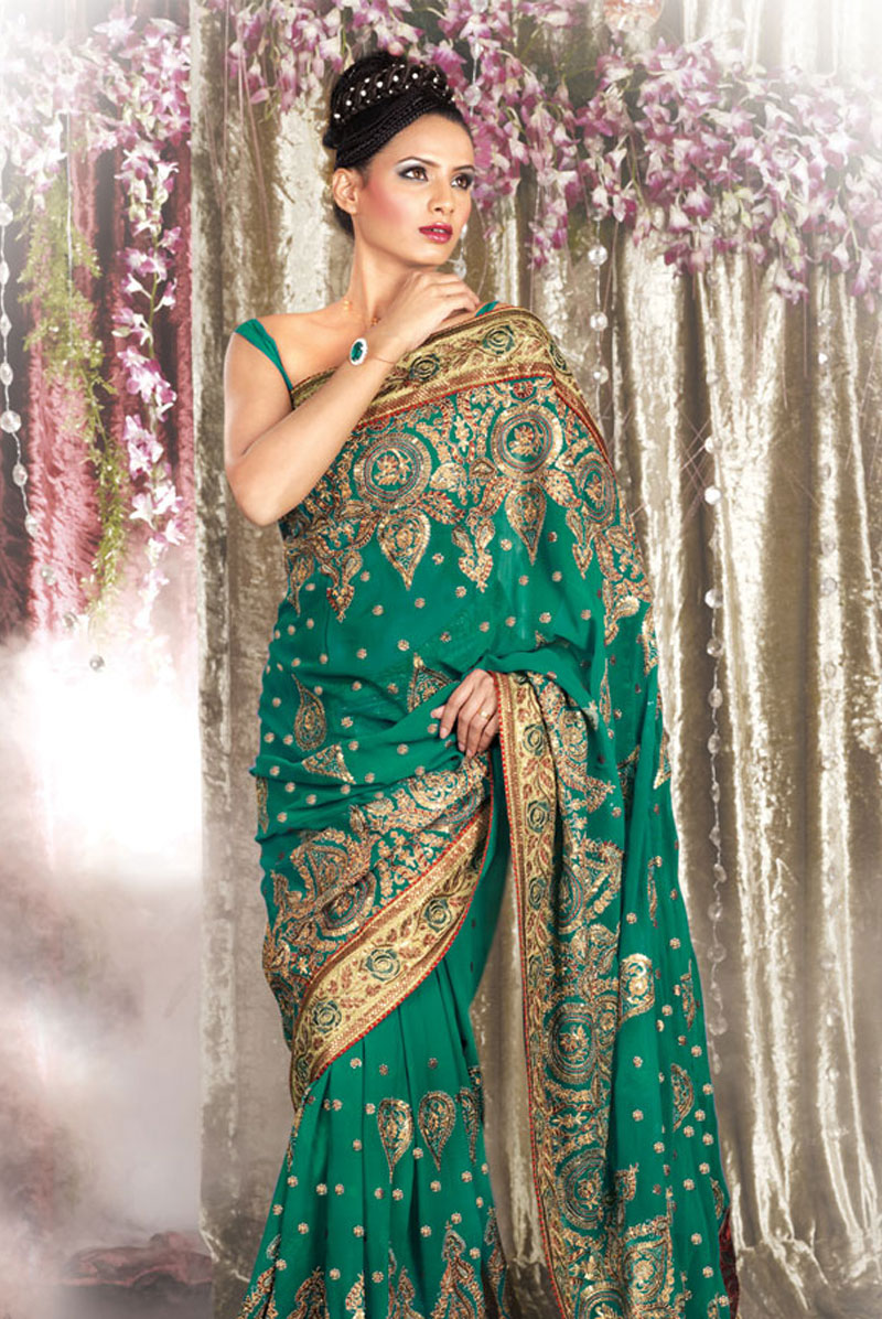 Embroidery Designs 25 Latest Sarees