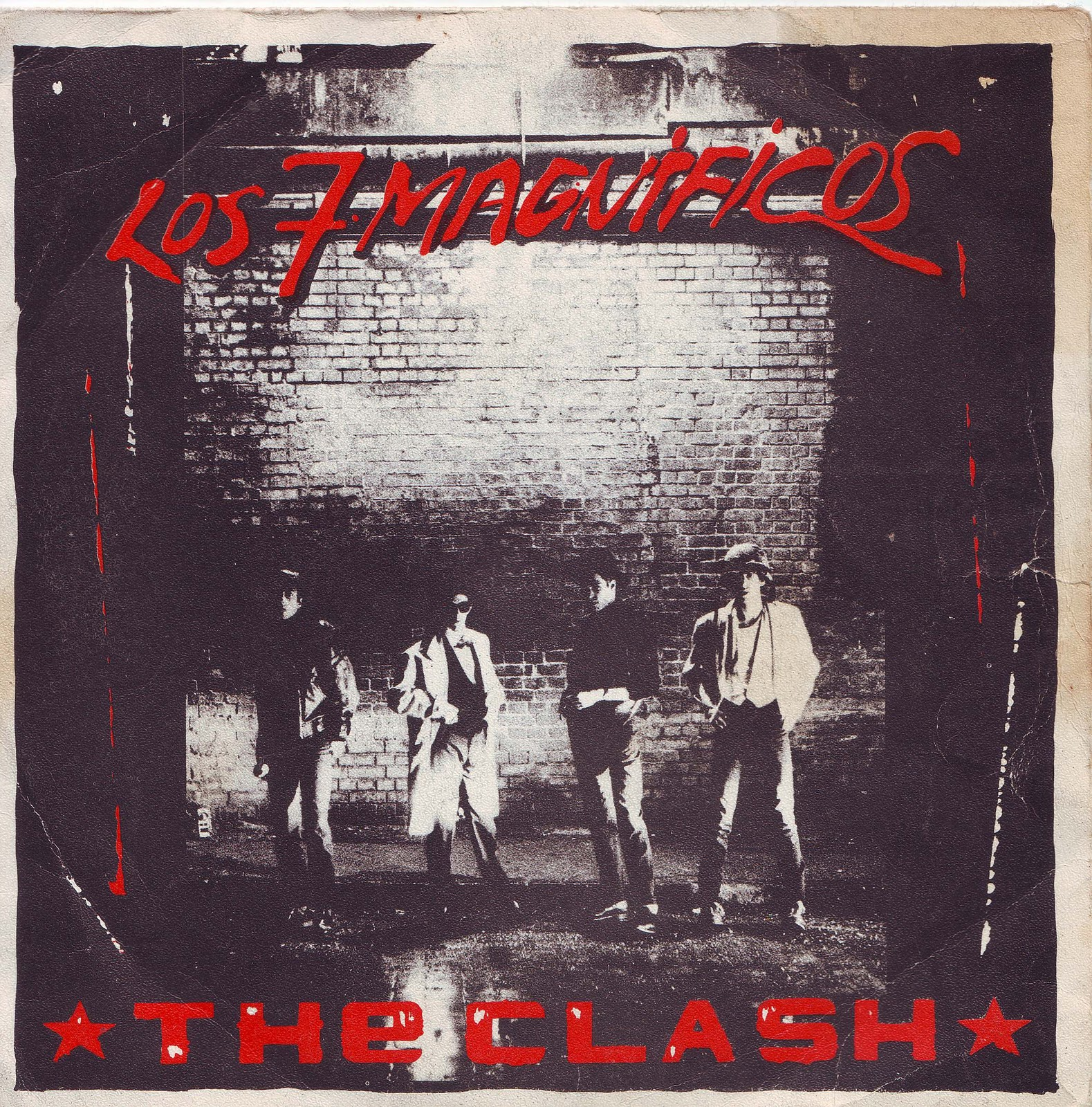 "SPANISH BOMBS: The Clash - The Magnificent seven 7"" 1980"