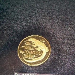 uang koin logam pecahan 100000 seratus ribu rupiah