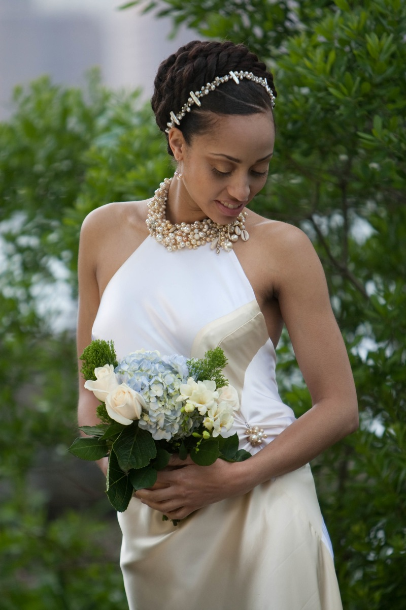 African American Wedding Hairstyles & Hairdos: Natural ...