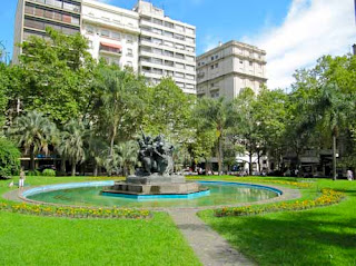 Plaza Fabini Montevideo Uruguay