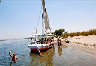 Felucca Boat Nile River Egypt