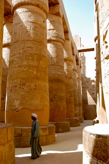 Hypostyle Hall Karnak Temple Egypt