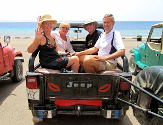 Wayne Pat Dunlap Jeep Trip Blue Hole Dave Anna Smith Dahab Egypt