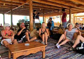 Chilling Restaurant Above Blue Hole Dahab Egypt