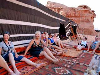 Pat Dunlap Bedouin Camp Wadi Rum Judean Desert Jordan