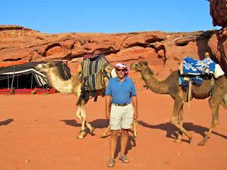 Wayne Dunlap Bedouin Camp Wadi Rum Judean Desert Jordan Camels