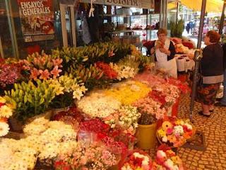Market in Cadiz Spain