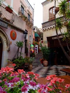 Street Taormina Italy