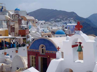 Beautiful Oia Santorini Greece