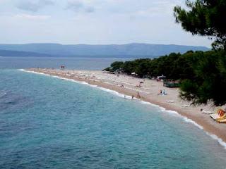 Zlatni Rat Beach Bol Brac Croatia