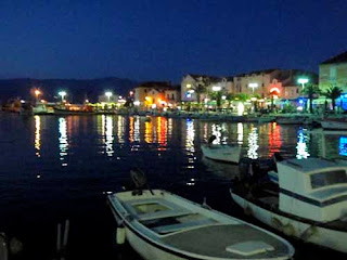 Supetar at Night Brac Croatia