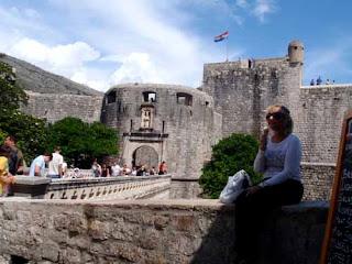 Pat dunlap Pile Gate Dubrovnik Croatia