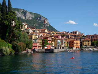 Town Varenna Lake Como Italy