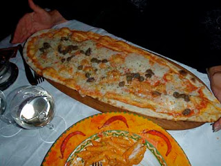 Pizza Lake Como Italy