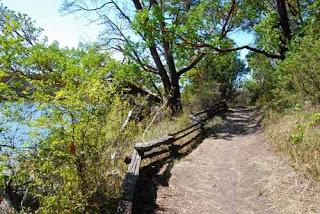 Hiking Trail San Juan Island Washington USA