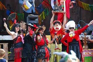 Resident Performer Uptown Street Fair  Port Townsend USA