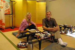Wayne Pat Dunlap Breakfast Traditional Ryokan Nara Japan