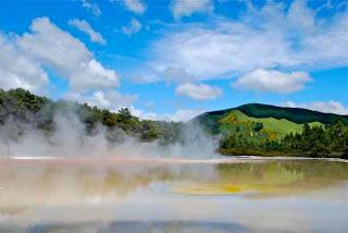 Champagne Pool Wai-O-Tapu Rotorua New Zealand