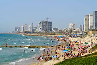 Downtown Beaches Tel Aviv Israel
