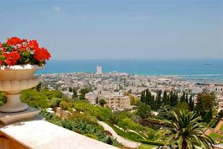 Haifa from Mount Carmel Israel