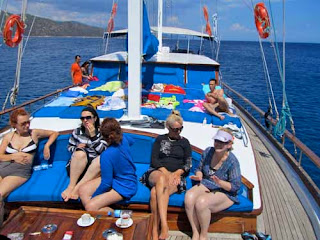 Our Gulet Boat out of Bodrum Turkey