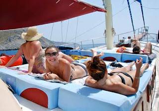 Lazin' on Our Gulet Boat - Turquoise Coast, Turkey