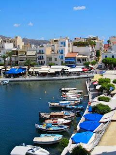 Lake Voulismeni Agios Nikolaos Crete Greece