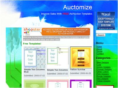 auction html templates ebay shop templates amp listing auction