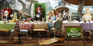 Tim Burton's 'Alice In Wonderland' starring Johnny Depp opens tomorrow March 5 in 3-D