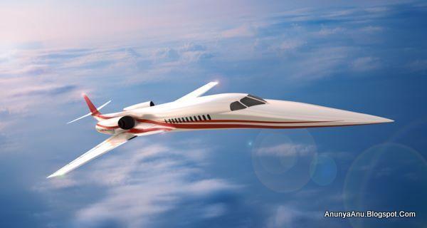 Pesawat Jet Pribadi Supersonik Pertama Di Dunia