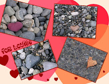 HEART-SHAPED PEBBLES FROM MY BLOGFRIEND GLO ...
