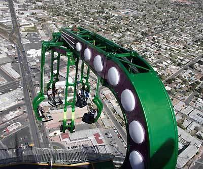 Thrill Ride In Las Vegas