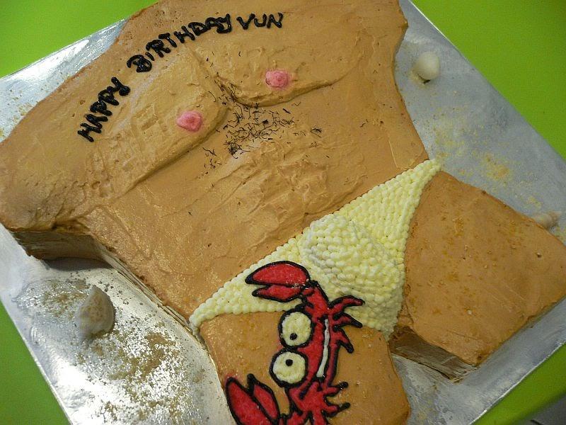 Ganache Ganache Sexy Trunk Cake