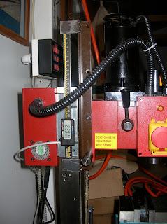 Robert's Projects: Mini Mill Modifications / Shumatech DRO