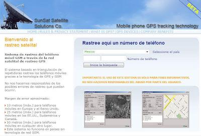 programa de rastreamento de celular via satelite