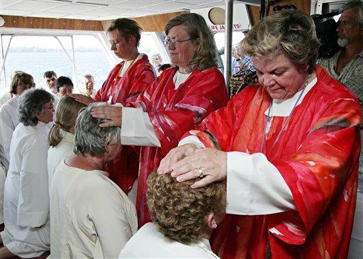 ordenação femenina