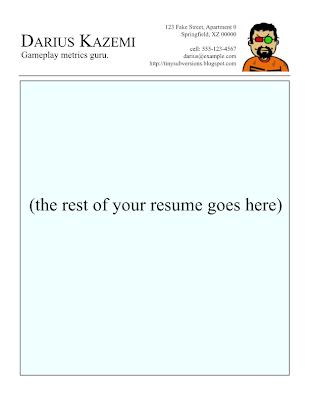 How To Create A Plain Text Ascii Resume Dummies Gamasutradariuss Blog Writing A Resume For A Game Co