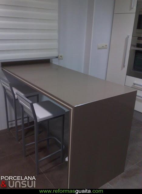 INFORME: Una barra en la cocina ~ Reformas Guaita