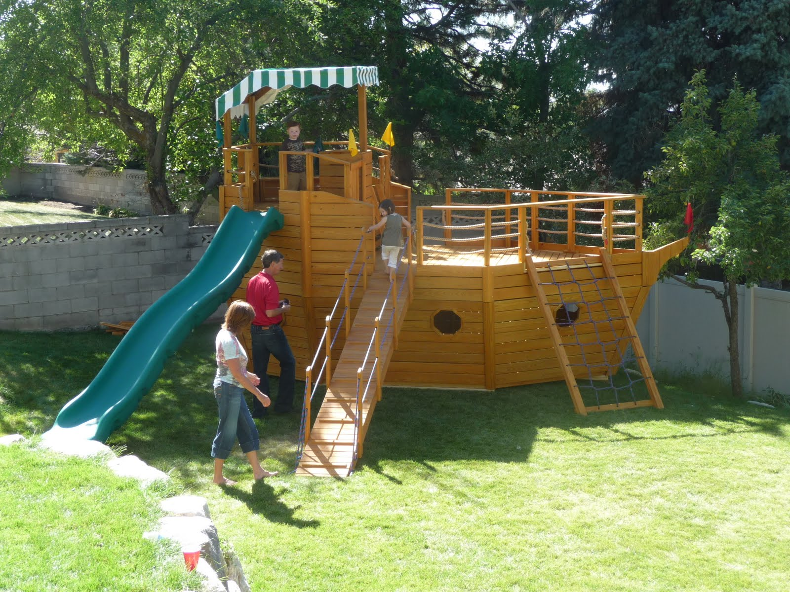 Jay: Wooden Playset Plans Pirate Ship How to Building Plans