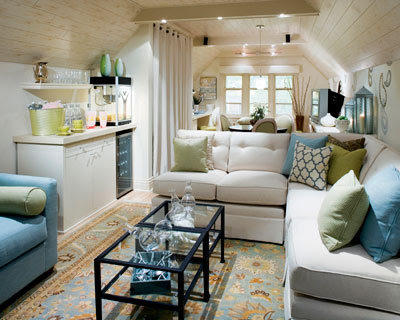 Remodeled Attic By Interior Designer Candice Olson From Hgtv S Divine Design