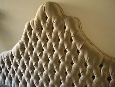 Diamond Tufted Upholstered Headboard Addicted 2 Decorating