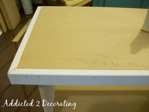 Bedside Table Progress And How To Make Your Own Decorator