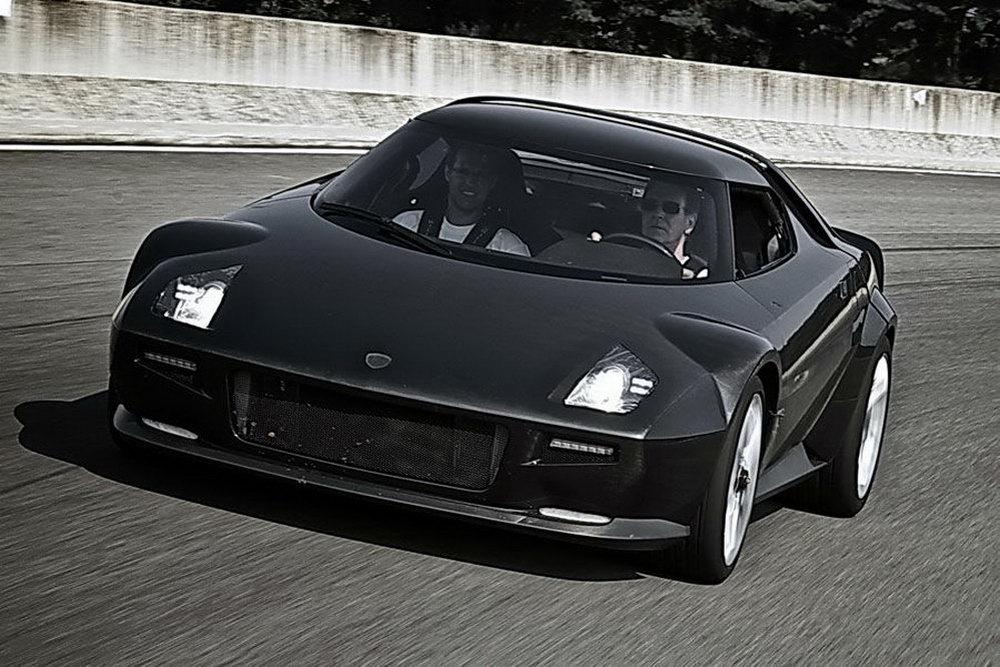 Lancia Stratos 2011 The Presence Of German Car Under