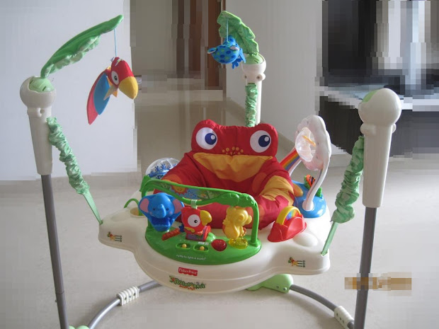 Fisher-Price Rainforest Jumperoo Instructions