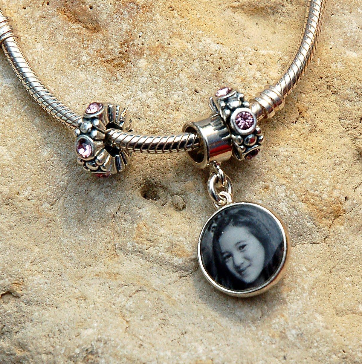 Charm Bracelets Pandora: Photo Jewelry By Aileen: Custom Photo