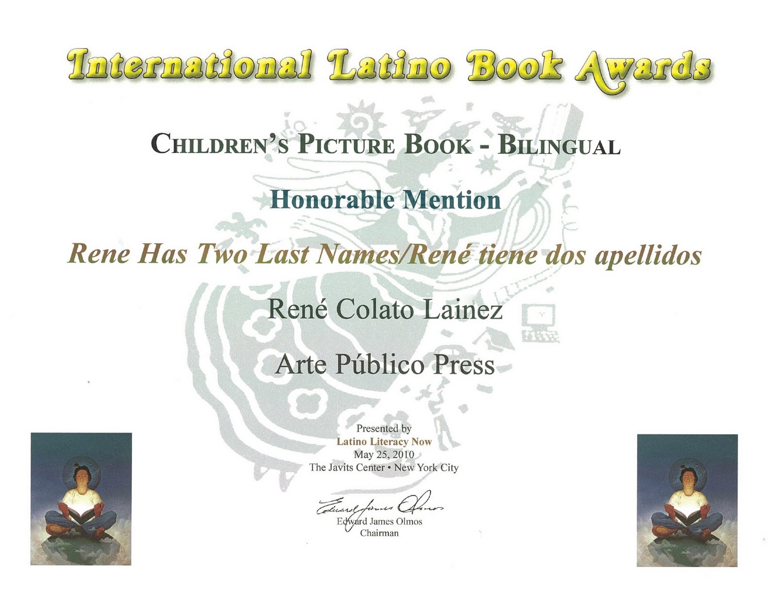 La Bloga: René Has Two Last Names New Recognition