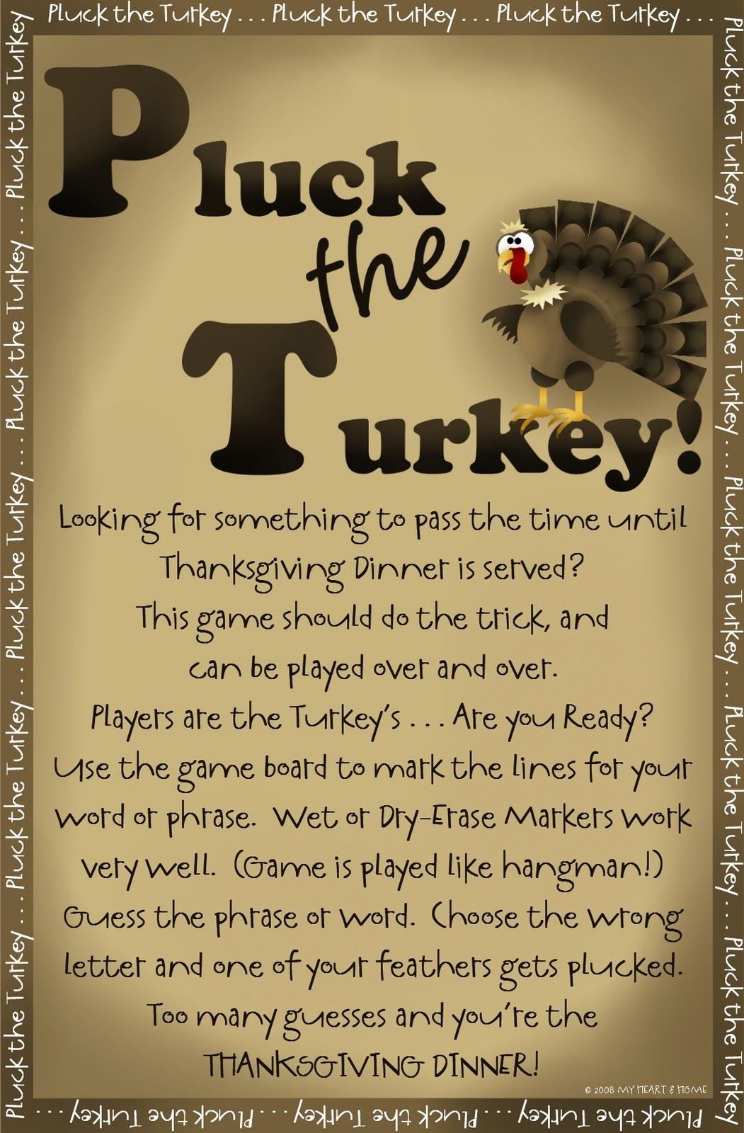 Prepared Not Scared Pluck E Turkey